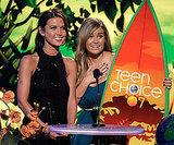 Audrina Patridge and Lauren Conrad shared an award in 2007.