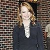 Emma Stone Pictures at Late Show With David Letterman 8/3/11