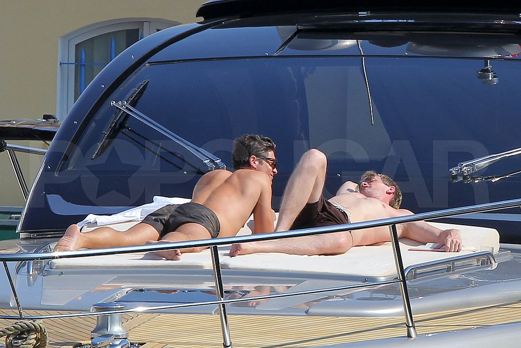 Shirtless Neil Patrick Harris Joins David Burtka and Their Twins on a Mediterranean Vacation With Elton John!