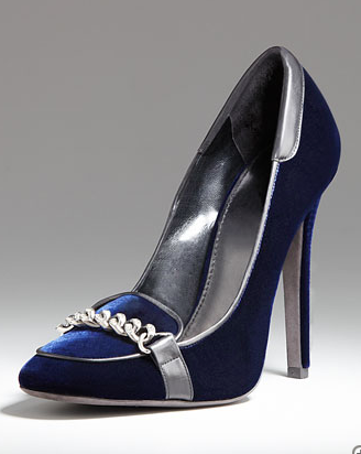 Giambattista Valli Pave-Chain High-Heel Loafer ($1,090)