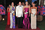 Prince Albert II and Charlene of Monaco walk the red carpet.