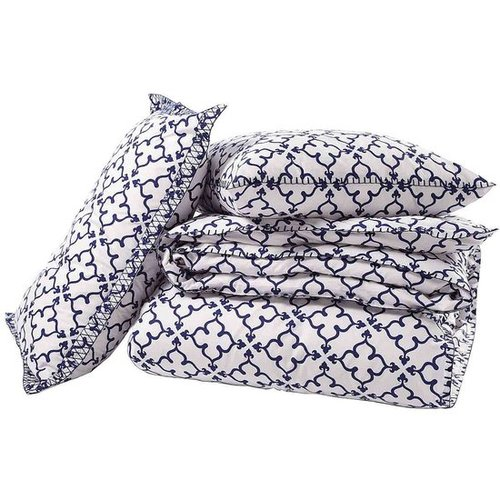 John Robshaw Textiles - Pipal Indigo - Duvets &amp; Shams - Bedding