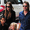 Jolie-Pitt Family at Wicked For Maddox's Birthday Pictures