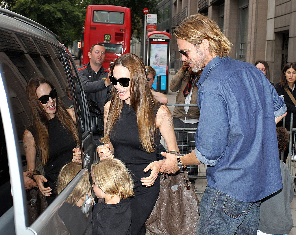 The Full Jolie-Pitt Family Celebrate Maddox's 10th Birthday at Wicked Together!