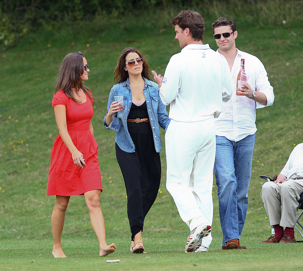 Pippa Middleton Supports Boyfriend Alex at His Cricketer Cup Final