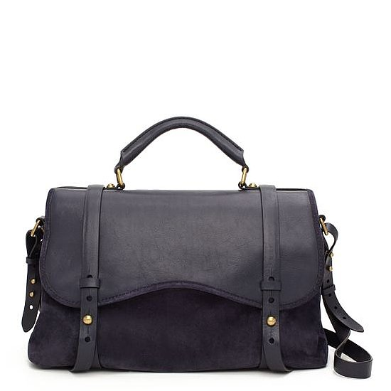 Westward Wanderlust Satchel in Navy, $795