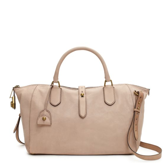 Westward Adventurer Satchel in Nude, $795