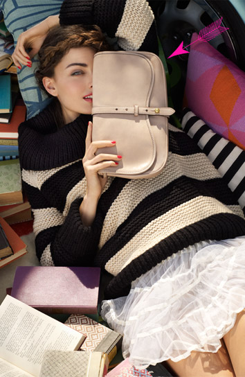 Westward Ingenue Clutch in Nude, $545