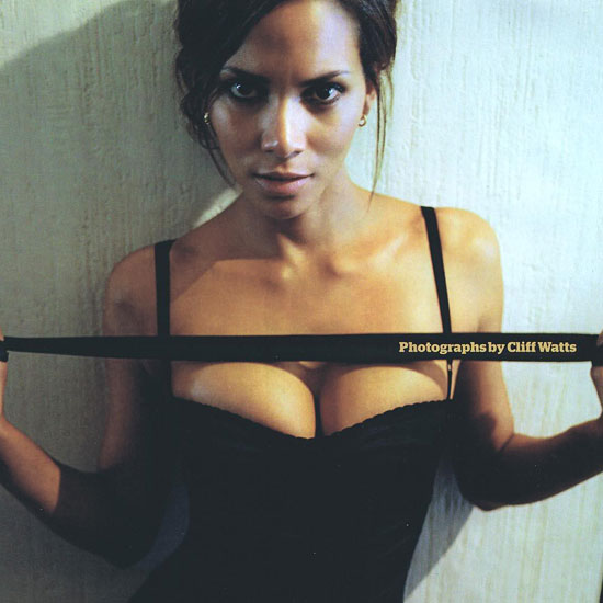 Halle Berry worked with photographer Cliff Watts on her May 2007 Esquire spread.