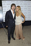 Rachel Zoe poses with her husband Rodger Berman.