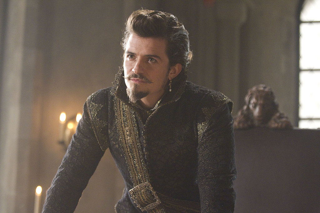 Orlando Bloom as the Duke of Buckingham in The Three Musketeers.