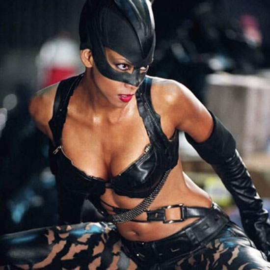 Halle Berry took the lead in a sexy black leather costume in 2004's Catwoman.