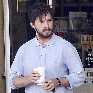 Shia LaBeouf Grabbing Coffee in LA Pictures