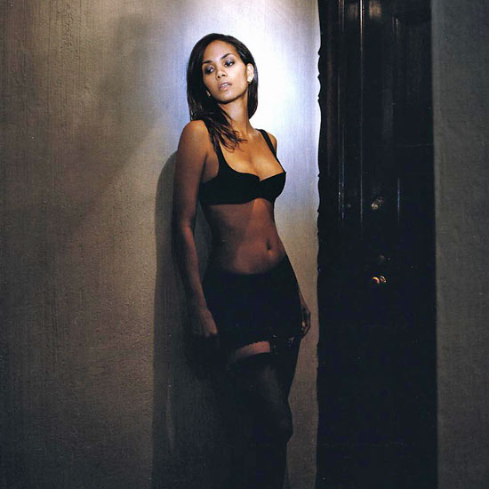 Halle Berry stripped down during her racy May 2007 Esquire shoot.