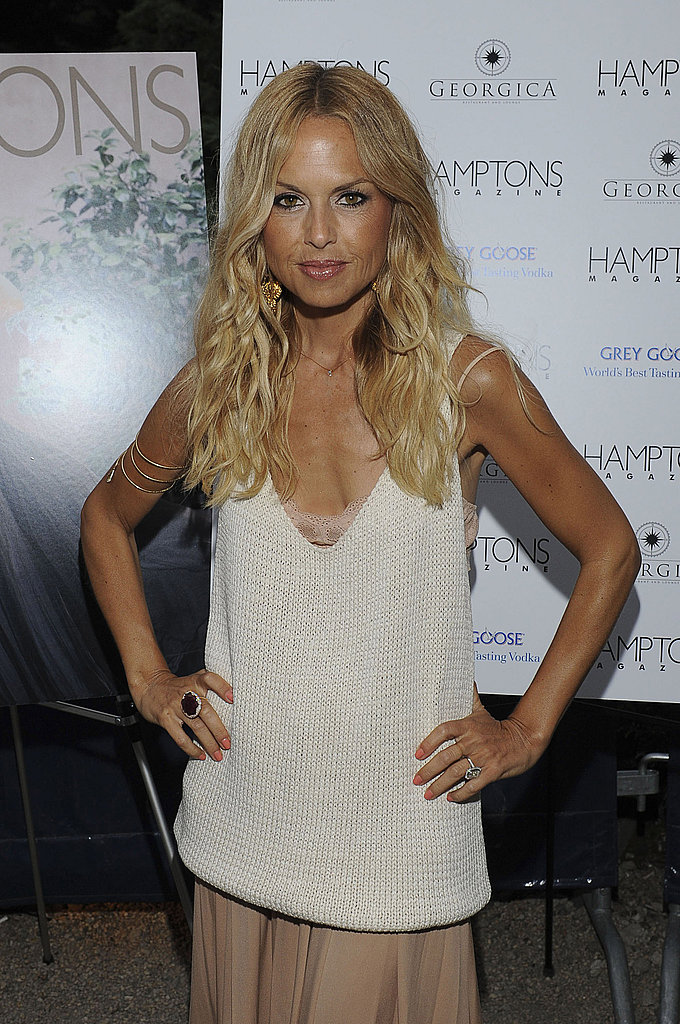 Rachel Zoe parties in the Hamptons.