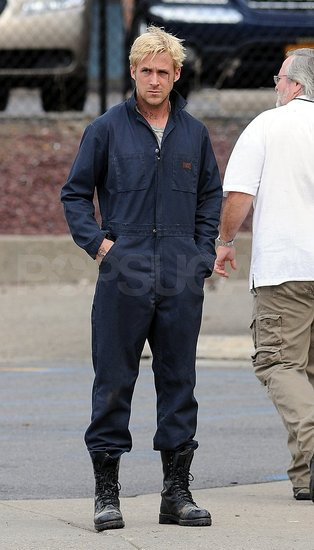 Ryan Gosling Effortlessly Makes Coveralls Look Good
