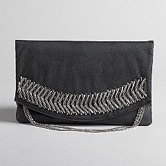 Kardashian Kollection Kardashian Metal Safety Pin Clutch ($65, originally $94)