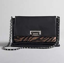 Kardashian Kollection Animal Print Chain Shoulder Bag ($58, originally $84)