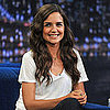 Katie Holmes Pictures on Late Night With Jimmy Fallon