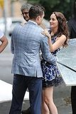 Leighton Meester and Ed Westwick filmed Gossip Girl in NYC.