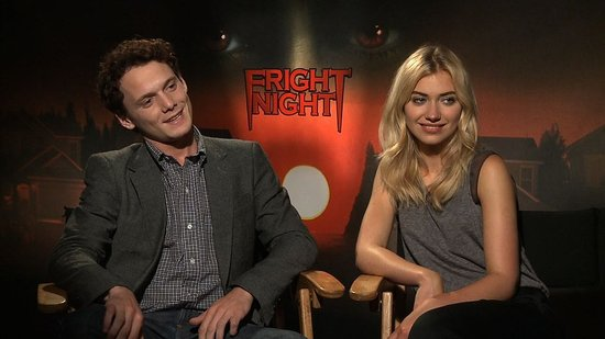 Anton Yelchin and Imogen Poots Talk Horror Hijinks on the Set of Fright Night