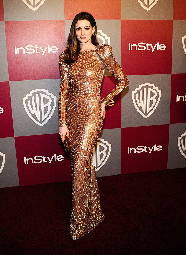 One of our absolute favorites — Anne looked simply awesome in Armani Privé at the 2011 Golden Globe Awards.