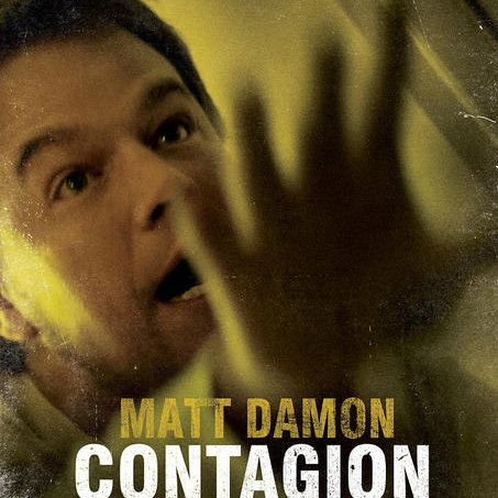 Contagion Posters of Matt Damon and Gwyneth Paltrow