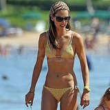 Alessandra Ambrosio and Her Little Hula Dancer Daughter Have a Sweet Bikini Beach Day