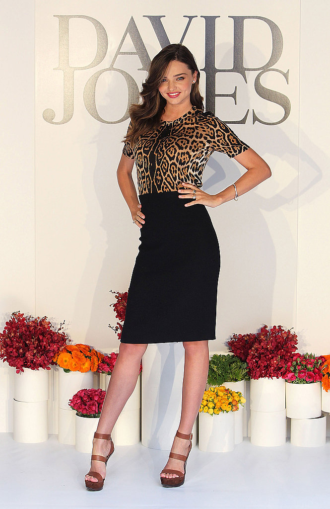 Miranda Kerr Keeps the David Jones Cameos Coming Today in Melbourne