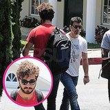 Shia LaBeouf and Joe Jonas Draw Blanks as One Arrives and One Leaves Lunch