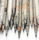 TreeSmart Newspaper Pencils ($25 For 72 pencils)