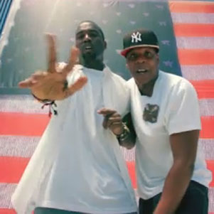 """Otis"" Music Video With Kanye West and Jay-Z"