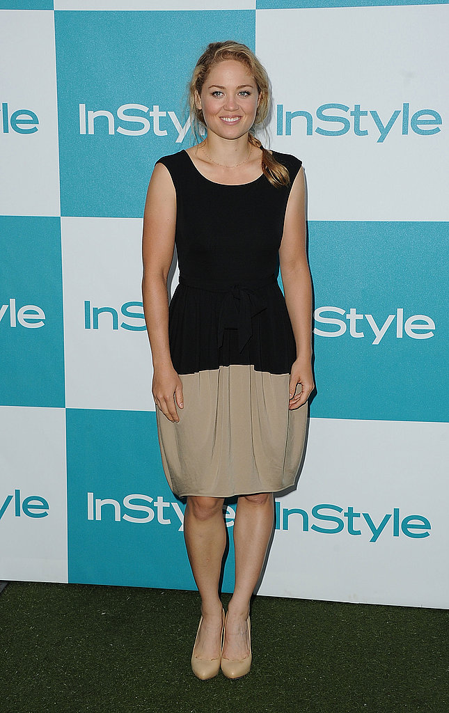 Erika Christensen at the 10th annual InStyle Summer soiree.