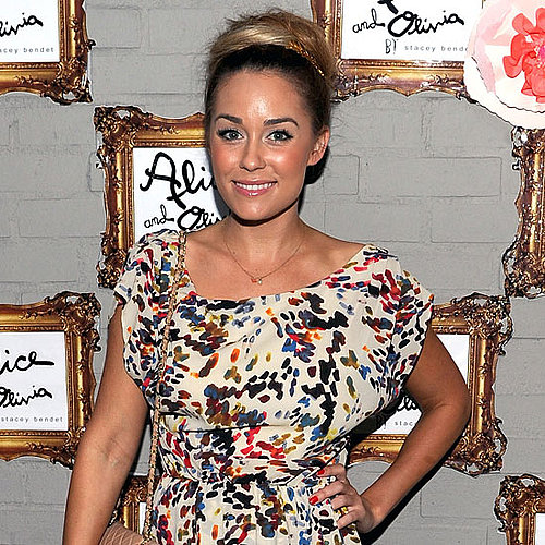 Lauren Conrad Pictures at an Alice + Olivia Party