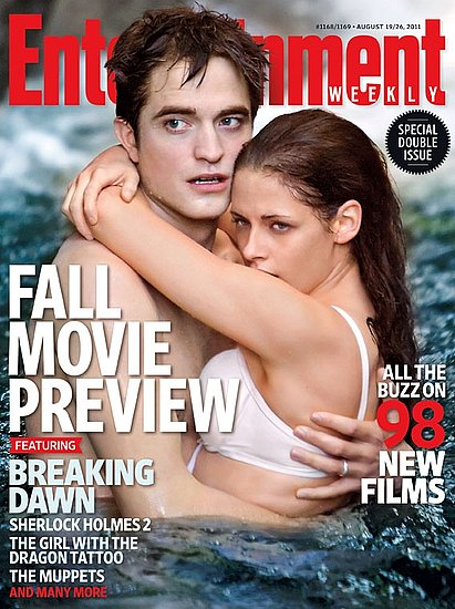 Robert Pattinson and Kristen Stewart Hug It Out, Talk Twilight Sex Scene For EW