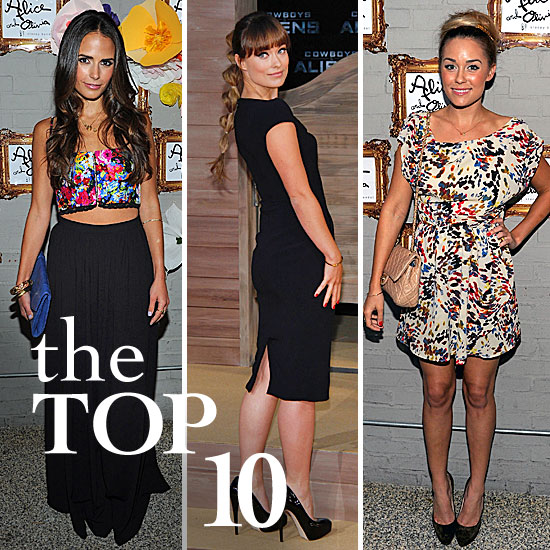 Best Celebrity Style For August 8-12, 2011