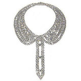 Isaac Mizrahi Crystal Chain Collar, $2,500