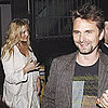 Kate Hudson Dressed in White With Matthew Bellamy Pictures