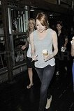 Emma Stone grabbed ice cream from Chelsea Piers.