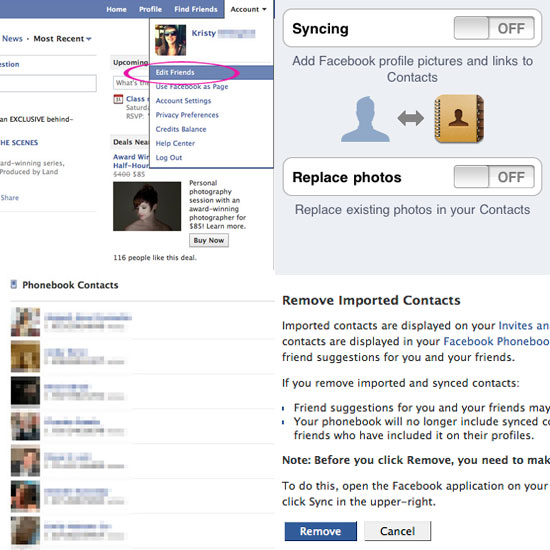 How to Un-Sync and Remove Contact Phone Numbers From Facebook