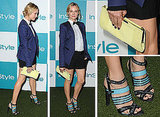 Pictures of Diane Kruger at the 10th Annual InStyle Summer Soiree: See Her Bow Tie Style From All Angles!