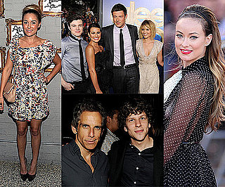 Celebrity Pictures of Olivia Wilde, Glee Stars, Chris Lilley, Rachel Zoe, Lauren Conrad and More