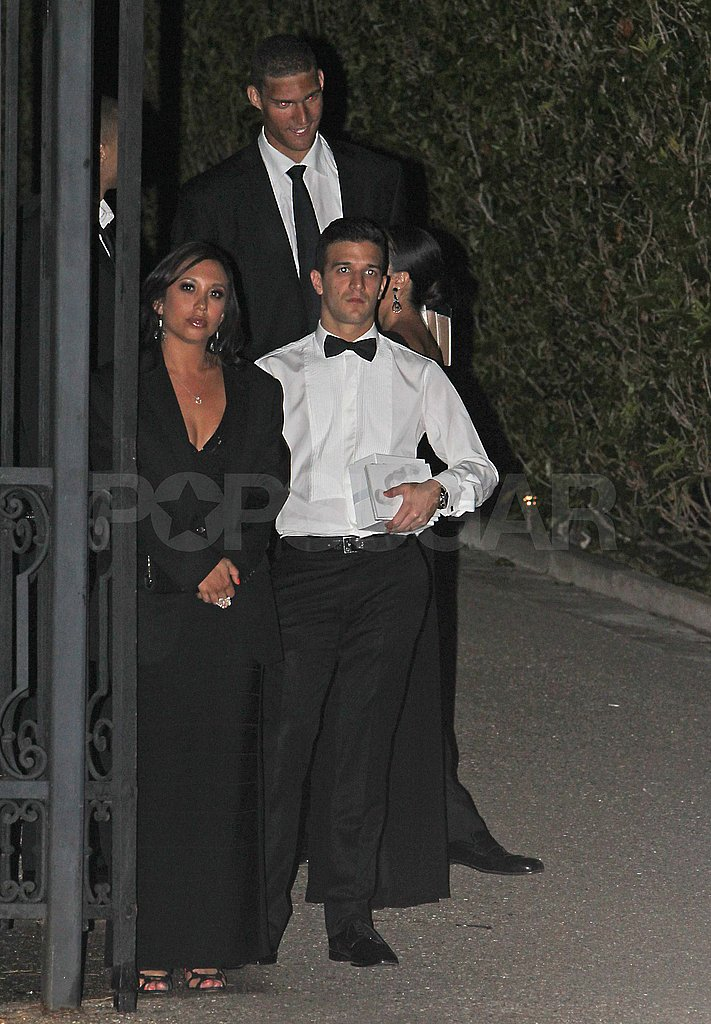 Cheryl Burke and Mark Ballas after Kim Kardashian's wedding.
