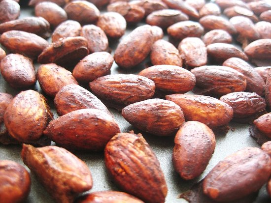 Cocoa-Spiced Almonds