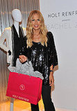 Rachel Zoe posed with a Hot Renfrew bag at their Toronto store.