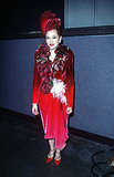 At the Evita premiere in 1996.