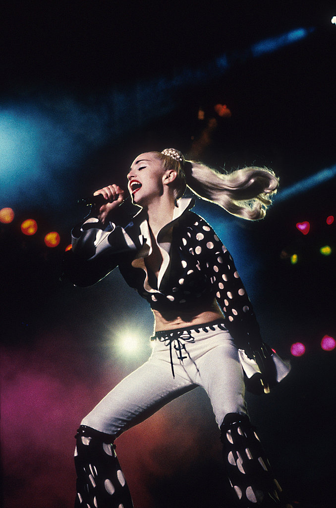 The Blond Ambition tour in 1990.