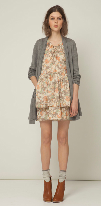 The muted print leaves room for layering with a cardigan or blazer. Steven Alan Jerry Dress ($288)