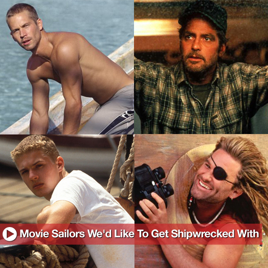 Boys on Boats: Movie Sailors We'd Like to Get Shipwrecked With