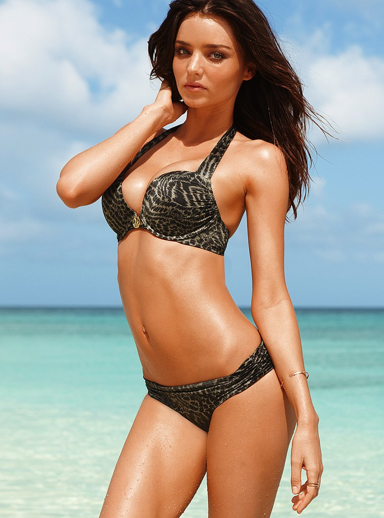 Miranda Kerr posed for Victoria's Secret.